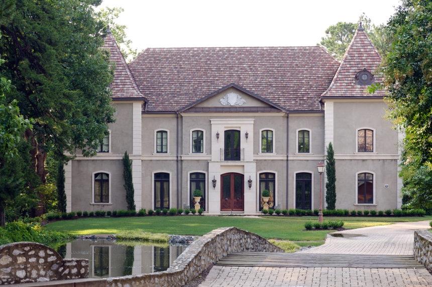An elegant french country home pt 1 architecture design for Elegant country homes