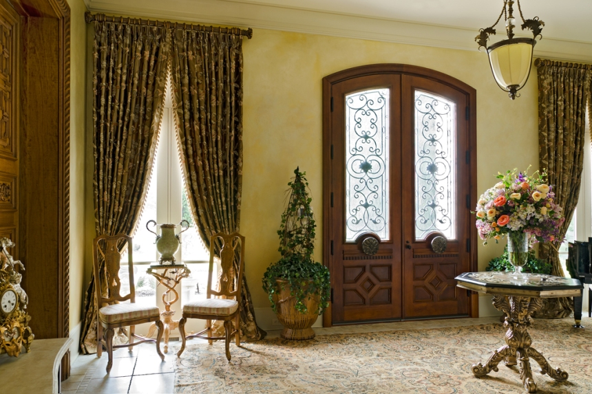 Country Home Foyers : An elegant french country home pt architecture design