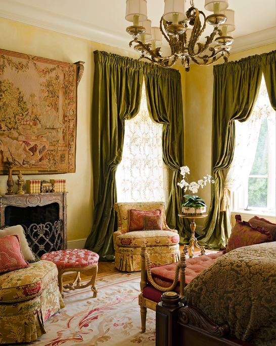 Master Bedroom, French Country
